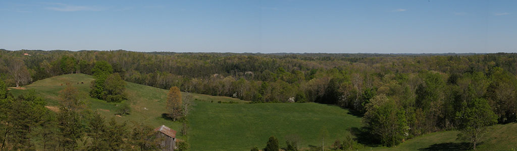 Panoramic View of Wolfe County, Kentucky